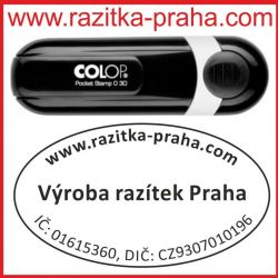 Razítko Colop Pocket Oval 30